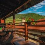 balcon cu vedere pensiune sibiu