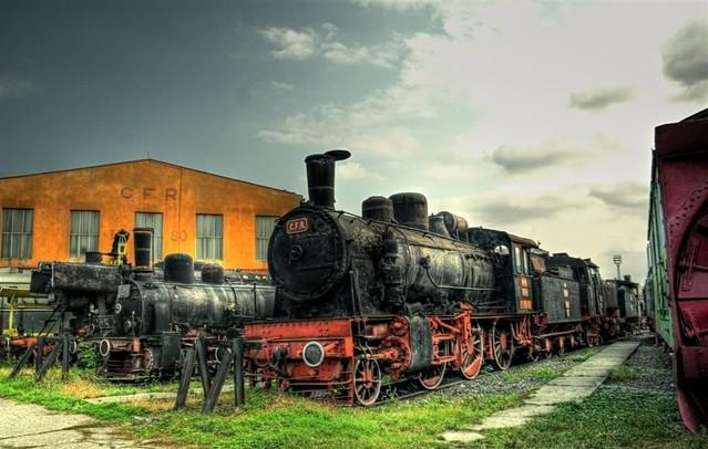 Muzeul Locomotivelor Cu Abur Sibiu